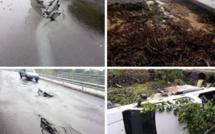 Rodrigues en images, après un avis de pluies torrentielles