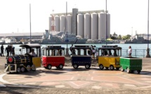 Caudan Waterfront : Le petit train de retour !
