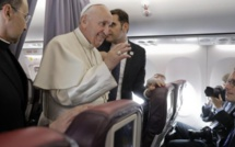 Pape François dans l'Océan Indien : trois journalistes mauriciens à bord du vol papal