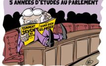 [KOK] Le dessin du jour : 5 années d'études au Parlement