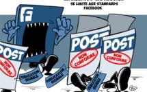 [KOK] Le dessin du jour : La liberté d'expression se limite aux standards de Facebook