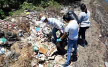 📷 Nettoyage du site Bambous Virieux par des bénévoles : Un camion de cinq tonnes et 60 sacs poubelles remplis de plastique et d'ordures ménagers