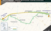 Metro Express : A Curepipe, l'avenue Swami-Sivananda, fermée à la circulation pour une durée d'un an