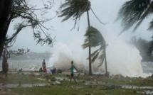 La tempête tropicale modérée DIANE est à environ 75 km au nord-nord-ouest de Maurice