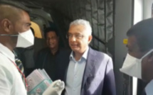 De retour au pays, Pravind Jugnauth passe au détecteur à Plaisance