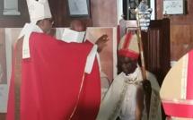 Sténio André, ordonné 16e évêque de l'église anglicane de Maurice