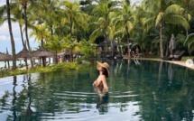 [People] L'ancienne Miss France Valérie Bègue en vacances à l'île Maurice