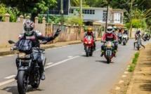 """Une balade en moto est organisée à travers l'île alors que le thème du 12 mars est """"Lanatir nou lavenir """""""