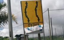 Sur la nationale en direction de Curepipe....