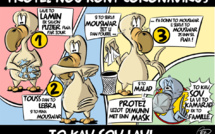 [KOK] Le dessin du jour : Protez Nou Kont Coronavirus