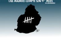 [KOK] Le dessin du jour : Le coronavirus fait 5 victimes à Maurice