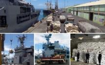 Covid-19 : Le navire indien INS Kesari se dirige vers les pays de l'océan indien avec 600 tonnes de médicaments