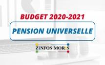 [Budget 2020-2021] La pension universelle maintenue pour les personne âgée de 60 ans et plus