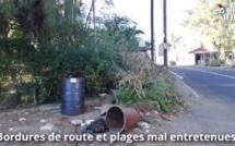 «Moris nou zoli pei» : Bordures de route et plages mal entretenues