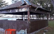 Le kiosque de Blue Bay, un réel danger pour le public