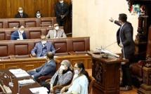 Franco Quirin suspendu pour les deux prochaines séances et Vikash Nuckchady expulsé du Parlement