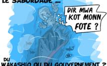 [KOK] Le dessin du jour : Le sabordage du Wakashio ou du gouvernement ?
