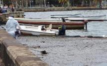 Le cauchemar continue à Mahébourg Waterfront avec des résidus d'hydrocarbure