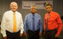 Présidentielle aux Seychelles : débat télévisé entre les 3 candidats en lice