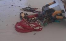 Durga Pooja à Flic-en-Flac: triste spectacle après la cérémonie de l'immersion des statuettes sur la plage