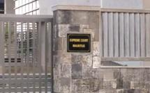 Diminution des cas en appel déposés en cour suprême