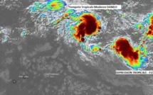 La tempête Danilo devrait fusionner avec un autre système ce week-end