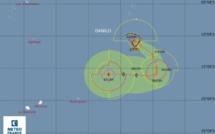 Activité cyclonique : Danilo pourrait devenir cyclone à partir de jeudi