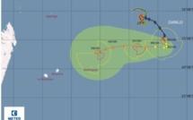 Danilo : forte probabilité d'une alerte cyclonique ce jeudi pour Rodrigues et vendredi pour Maurice