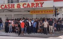 Les 195 ex-employés de Cash & Carry devant le Redundancy Board