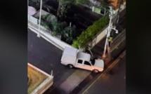 "Opération ""dress camera"" devant Jules Koenig street à Port-Louis"