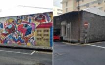 Le Street Art est éphémère à Port -Louis
