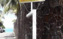 La ruelle de la discorde à Blue Bay