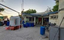 À St-Brandon : le bâtiment qui sert d'abri aux officiers de la NCG dans un état piteux