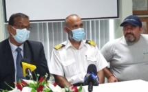 Maudhoo : « Il n'y a aucune fuite d'huile depuis le navire de pêche »