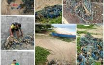 Pointe aux Canonniers : Des filets de pêche abandonnés dans le lagon, un désastre environnemental