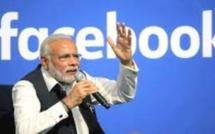 Inde : Facebook bloque puis restaure le hashtag appelant Narendra Modi à démissionner