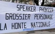 A l'Hôtel du Gouvernement, une manifestation pour réclamer le départ du Speaker, Sooroojdev Phokeer