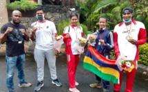 Championnats du Monde de Savate Boxe Française : les quatre médaillés de retour chez eux