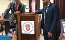 Le président du conseil de district de Grand Port, Ravi Jangi arrêté et libéré sur parole hier