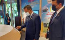 Le ministre Balgobin participe à l'Expo 2020 à Dubaï