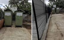 Des toilettes temporaires installés à Quatre Bornes, pour les utilisateurs des transports publics